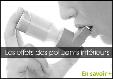 Les effets des polluants interieurs